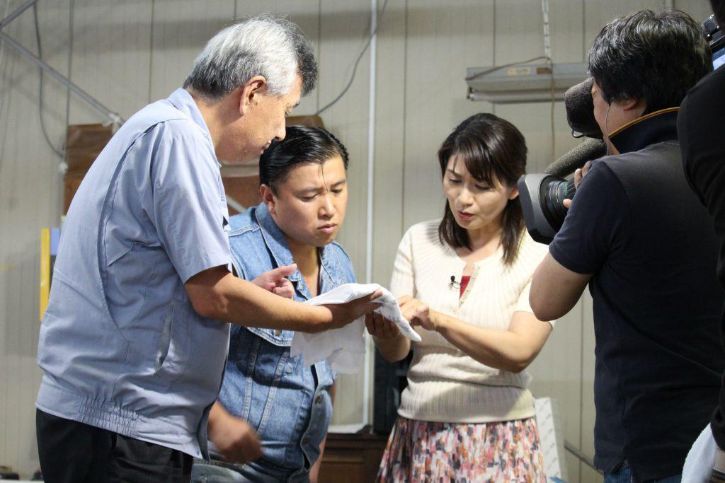 おぼろタオル スギちゃん 恩田アナ 中京テレビ キャッチ