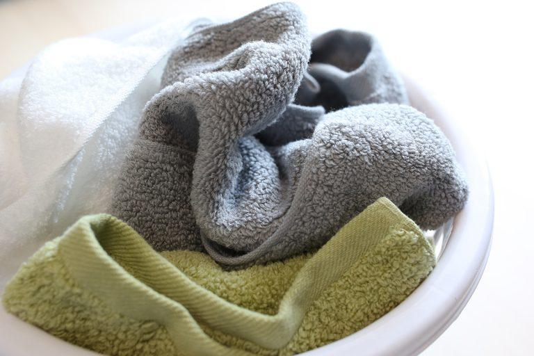 タオルの風合いを長く保つために