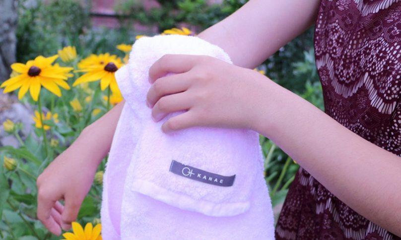 シャワーバスタオル「からりーな」