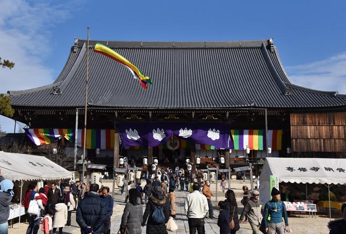 高田本山専修寺の「お七夜」