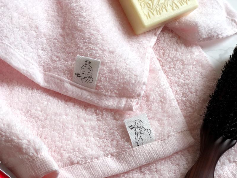 専顔タオル&専髪タオル(ピンク)