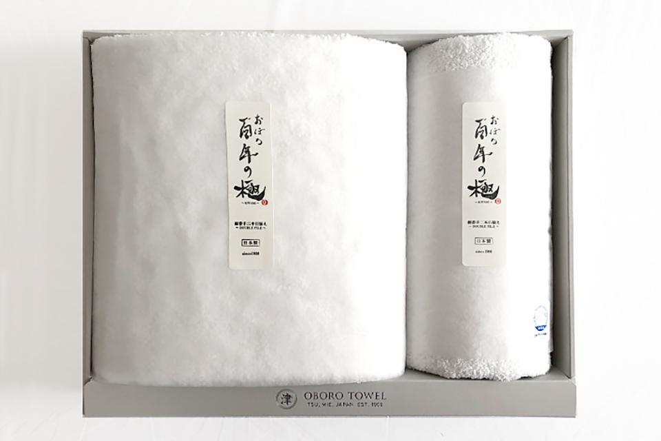 【ギフトセット】おぼろ百年の極/BT×1枚・FT×1枚/W×W ¥6,490 (税込)